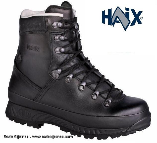 Haix BW Bergstiefel, en kraftig känga för användning i terrängen.